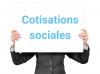 Cotisations sociales indépendant à payer