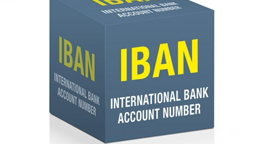 Determiner l'International Bank Account Number - IBAN